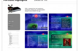 TiVo App Design