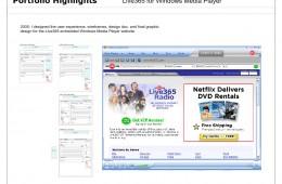 Windows Media Player Web Design