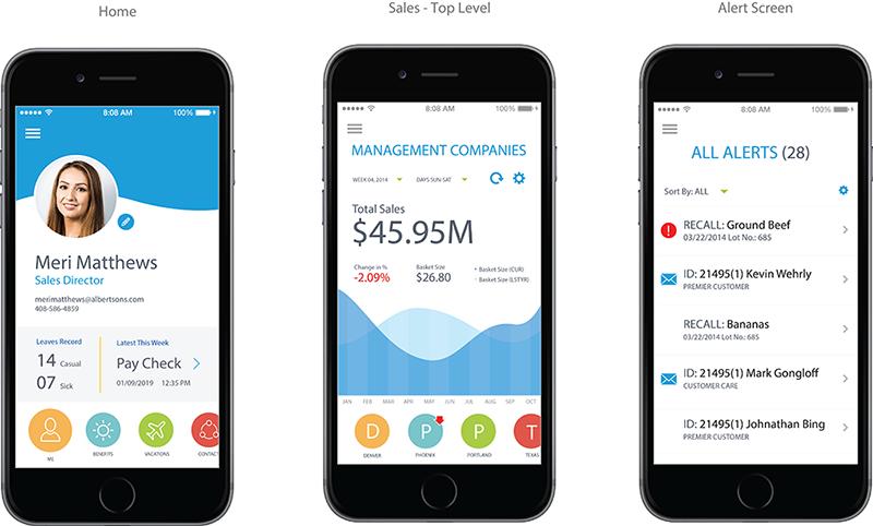 Sample App Design Pages
