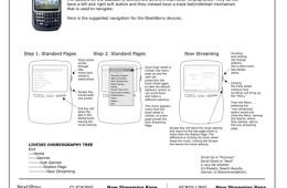 BlackBerry Wireframes