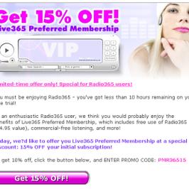 VIP Marketing Email
